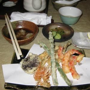 ひろみの天ぷらもりつけ
