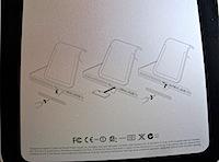 iMac 底面