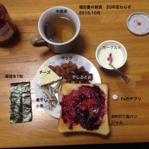 151009豊の朝食